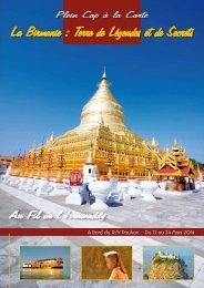 La Birmanie : Terre de Légendes et de Secrets - Plein Cap