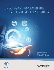 Creating and implementing a HolistiC mobility strategy - AT&T