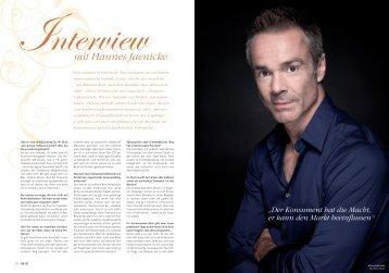 mit Hannes Jaenicke - Sandra Paule PR-Management