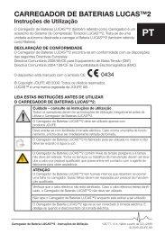 CARREGADOR DE BATERIAS LUCAS™2 - Lucas CPR