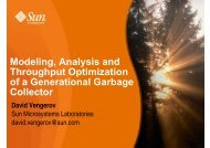 Modeling, Analysis and Throughput Optimization of ... - IBM Haifa Labs