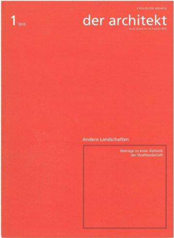 der architekt - Dietrich | Untertrifaller Architekten
