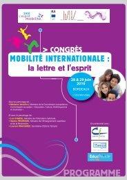 Mobilité internationale - la lettre et l'esprit - Agence Europe ...
