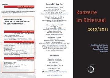Amadä - Staatliche Hochschule für Musik und Darstellende Kunst ...