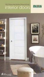 interior doors - Huttig Building Products