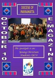Youth E-Magazine October 2010 - Catholic Diocese of Parramatta