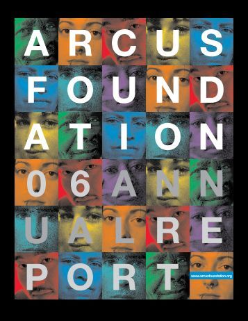 Download the report here - Arcus Foundation