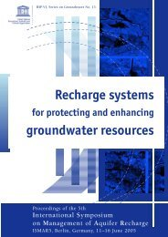 Recharge systems for protecting and enhancing groundwate