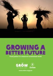 Growing a Better Future - Oxfam Canada