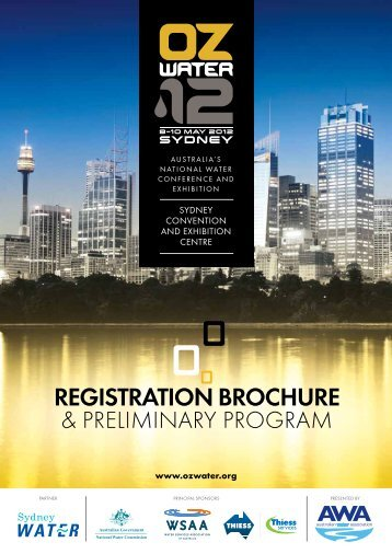 REGISTRATION BROCHURE - Australian Water Association
