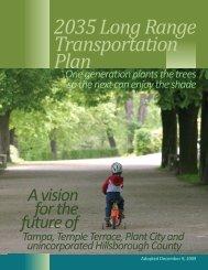 Hillsborough County 2035 Long Range Transportation Plan