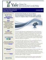 2012 EPI Newsletter 1.26.12.pdf - Yale Center for Environmental ...