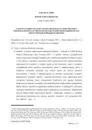 Uchwałę nr 6/2007 Komisji Nadzoru Bankowego z dnia 13 marca ...