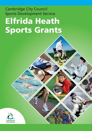 Elfrida Heath Sports Grants - Cambridge City Council
