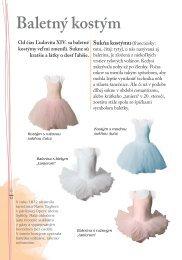 Ukázková kapitola - Baletný kostým - Albatros Media