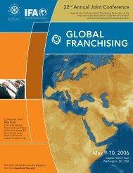 GLOBAL FRANCHISING - International Franchise Association