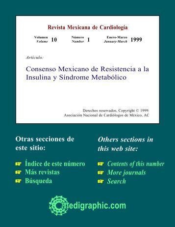 Consenso Mexicano de Resistencia a la Insulina y ... - edigraphic.com