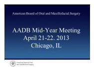 Downloaded - American Association of Dental Boards