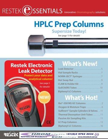 HPLC Prep Columns