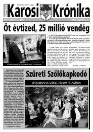 2012. szeptember 19-i szám - Zalakaros