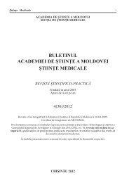 stiinte med 4 2012.indd - Academia de Ştiinţe a Moldovei
