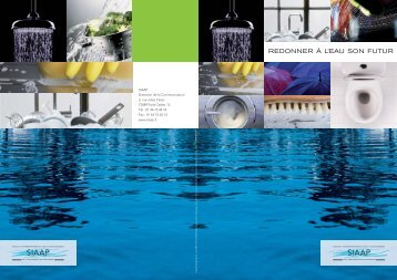 Brochure institutionnelle du SIAAP