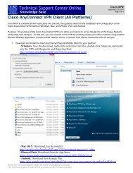 Cisco AnyConnect VPN - Duke's Fuqua School of Business