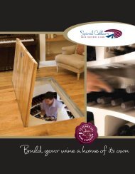 Build your wine a home of its own - Spiral Cellars