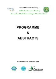programme book - APAFRI-Asia Pacific Association of Forestry ...