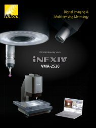 VMA-2520 - Nikon Metrology
