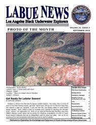 September - Los Angeles Black Underwater Explorers