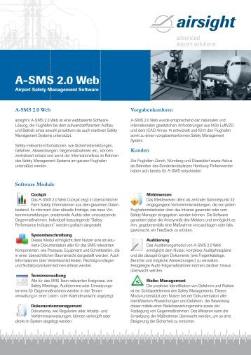 A-SMS 2.0 Web - airsight