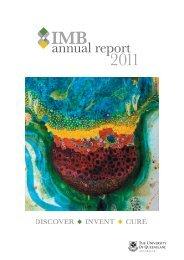 2011 Annual Report - Institute for Molecular Bioscience - University ...