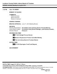 Loudoun County Public Library Board of Trustees