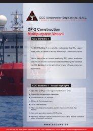 CCC Maritime 1 - CCC (Underwater Engineering)