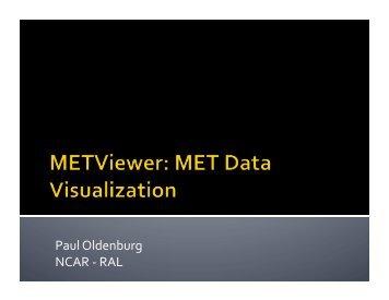 METviewer Database and Display