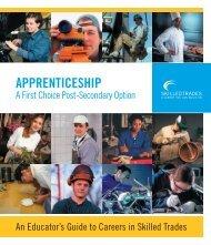 Educator's Guide to Careers in Skilled Trades - Education, Culture ...
