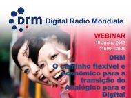 Baixe a apresentação - Digital Radio Mondiale - Brasil