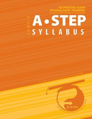 Sample Syllabus