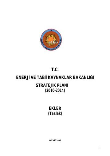 fiziki durum - Enerji ve Tabii Kaynaklar Bakanlığı
