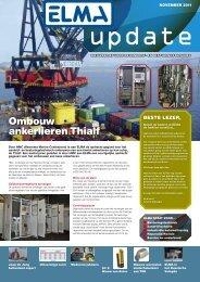 Ombouw ankerlieren thialf - Elma BV