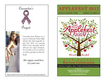 Visitor's Guide - Warwick Applefest