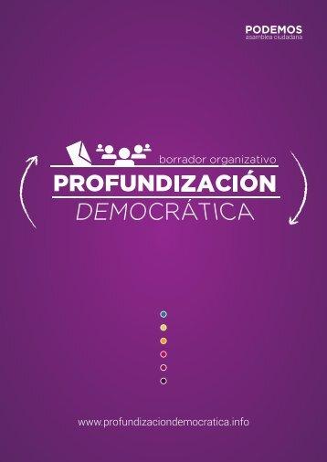 Borrador - Profundizacion democratica