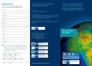 AKTIONSTAG NORDAFRIKA - AHK Marokko - AHKs