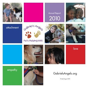 Annual Report - Gabriel's Angels