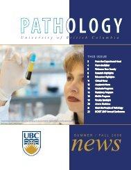 U niversityof B ritish C olumbia - Pathology and Laboratory Medicine