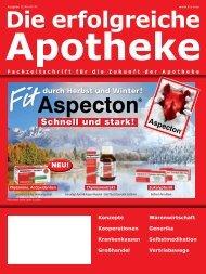 Ausgabe 12.2010 - Die erfolgreiche  Apotheke - Fachzeitschrift für ...