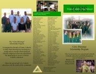 Celtic Blessings Brochure.pdf - Trinity Catholic High School