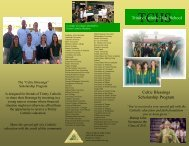 Celtic Blessings Brochure.pdf - Trinity Catholic High School