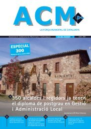 Núm. 300 - Juliol/Agost 2009 - Associació Catalana de Municipis